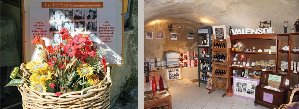 La Fontaine à vin Valensole - Entrée
